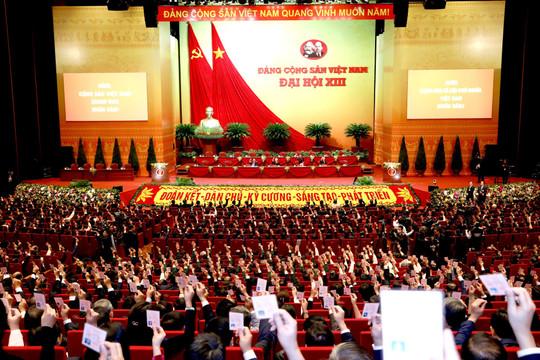 Những hình ảnh về phiên trù bị Đại hội đại biểu toàn quốc lần thứ XIII của Đảng