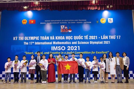 Việt Nam giành 20 huy chương tại IMSO 17