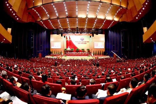 Những hình ảnh ấn tượng tại Lễ khai mạc chính thức Đại hội XIII của Đảng
