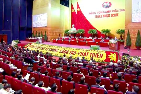 Đại hội lần thứ XIII của Đảng: Các đại biểu thảo luận về văn kiện Đại hội
