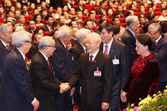 Hình ảnh các đại biểu trong nước và quốc tế tham dự Đại hội XIII của Đảng