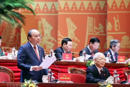 23 đại biểu từ các đoàn, đảng bộ tham gia ý kiến thảo luận văn kiện Đại hội