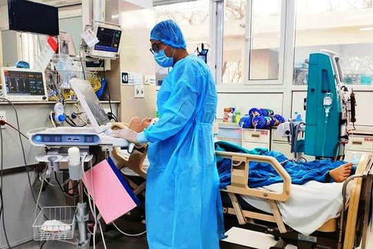 BN1553 suy hô hấp, viêm phổi nặng
