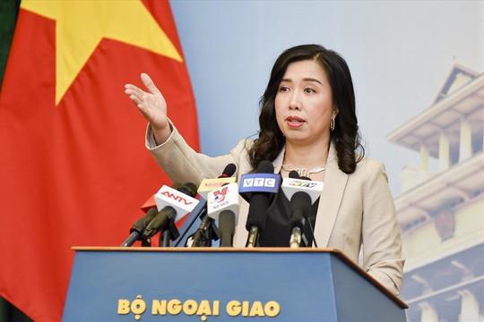 Việt Nam lên tiếng trước việc Trung Quốc thông qua Luật Cảnh sát biển