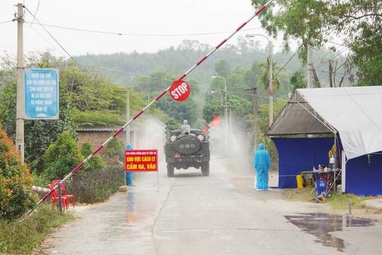 """Tiếp tục phong tỏa xã An Sinh thuộc """"điểm nóng"""" thị xã Đông Triều"""