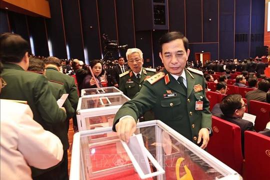 """Đại hội XIII """"chốt"""" các trường hợp xin rút và bầu Ban Chấp hành Trung ương Đảng"""