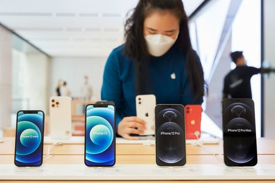 Apple trở thành hãng smartphone lớn nhất thế giới