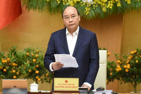 Dịch COVID-19 diễn biến phức tạp ngày giáp Tết, Thủ tướng yêu cầu tập trung 4 nhiệm vụ