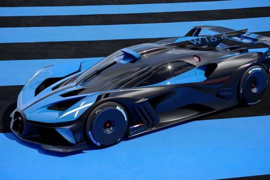 Bugatti Bolide hypercar 2021 - siêu xe mạnh 1.850 mã lực