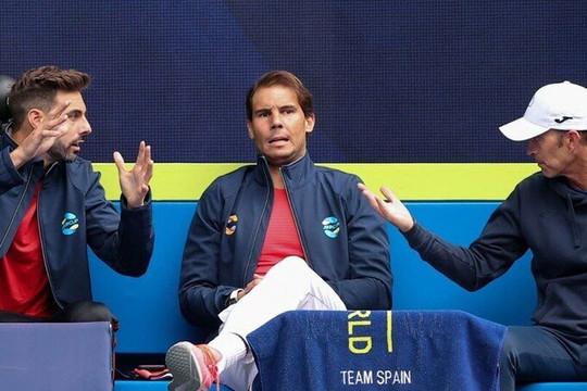 Rafael Nadal dính chấn thương, vắng mặt trận mở màn ATP Cup