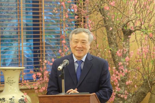 Ủy viên Bộ Chính trị, Chánh án TANDTC Nguyễn Hòa Bình thăm, chúc Tết Bộ tư lệnh Bộ đội Biên phòng