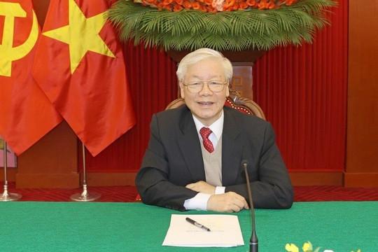 Thủ tướng Campuchia Hun Sen điện chúc mừng Tổng Bí thư, Chủ tịch nước Nguyễn Phú Trọng