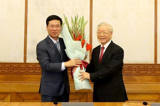 Ông Võ Văn Thưởng được Bộ Chính trị phân công làm Thường trực Ban Bí thư