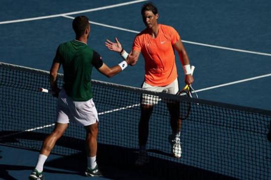 Australia mở rộng 2021: Nadal thắng nhàn trận ra quân