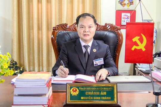 Thẩm phán Nguyễn Sinh Thành: Với tôi chia sẻ trách nhiệm xã hội là mệnh lệnh trái tim
