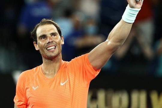 Australian Open 2021: Nadal tốc hành vào vòng 3