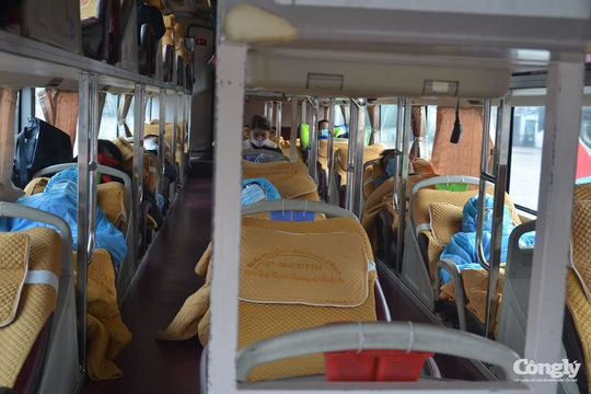 Bến xe Hà Nội ngày mùng 2 Tết