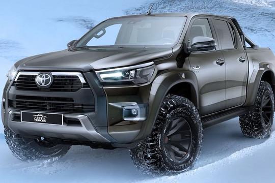 Toyota Hilux AT35 2021 giá bán đắt ngang với xe sang Lexus