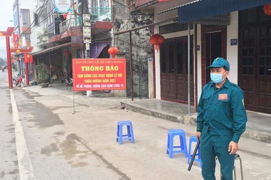 Hà Nội: Vẫn còn khách tới chùa Hương, Mỹ Đức phải lập 9 chốt chặn