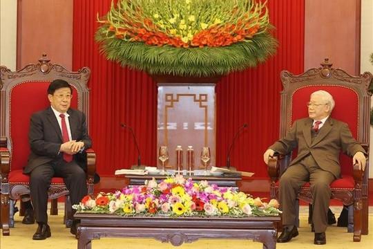 Tổng Bí thư, Chủ tịch nước tiếp Bộ trưởng Bộ Công an Trung Quốc