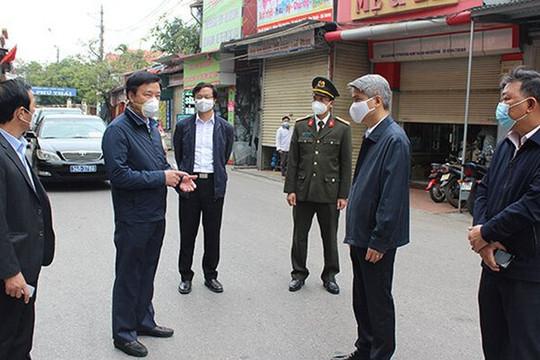 Hải Dương: Phê bình Bí thư, Chủ tịch huyện Kim Thành  vì lơ là chống dịch