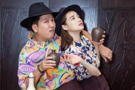 Bà xã Trường Giang khoe nhan sắc