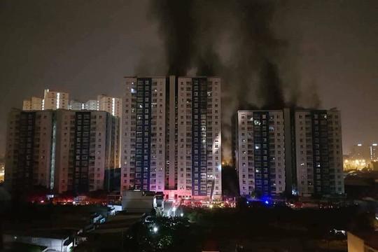 Phục hồi điều tra vụ cháy chung cư Carina khiến 13 người tử vong