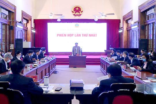 Hội đồng Thẩm phán TANDTC họp phiên toàn thể đầu năm 2021