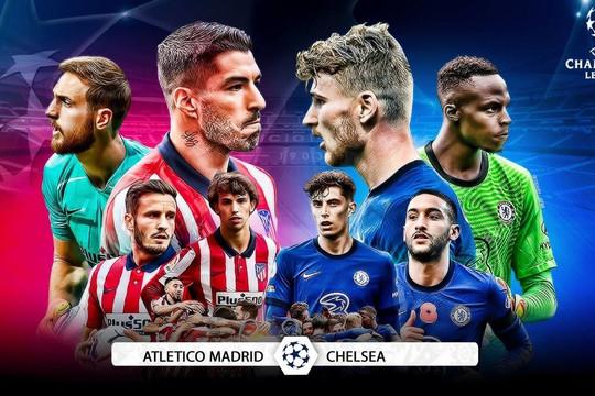 Chelsea vs Atletico Madrid: Những sự tương phản đối lập