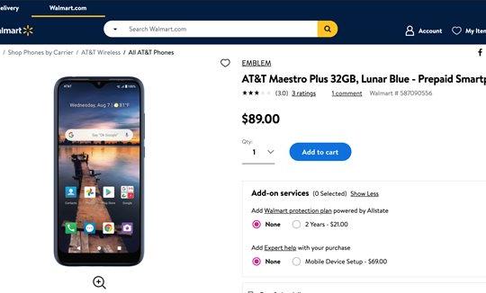 Smartphone VinSmart sản xuất cho thị trường Mỹ đã bắt đầu lên kệ