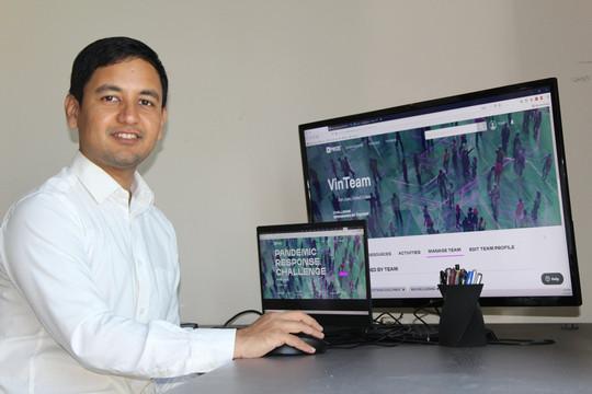 """VinBrain lọt vòng chung kết cuộc thi toàn cầu """"Thử thách ứng phó với đại dịch"""""""