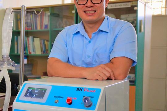 Tiết lộ về quá trình nghiên cứu máy  thở BK-Vent hỗ trợ điều trị SARS-CoV-2