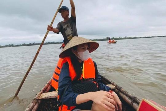 Thuỷ Tiên công bố hình ảnh xây dựng 10 nhà chống lũ cho bà con miền Trung