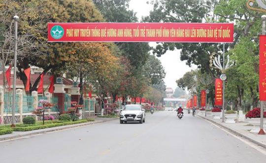 Vĩnh Phúc: Thành phố Vĩnh Yên sẵn sàng cho ngày hội tòng quân