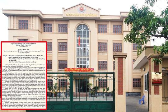 Huyện An Dương (Hải Phòng): Một công dân liên tục bị hăm doạ việc thi hành án