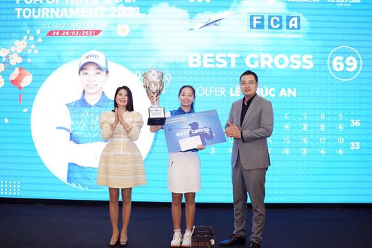 Golfer trẻ Lê Chúc An lên ngôi vô địch Giải FCA Spring Golf Tournament 2021