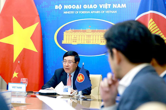 Hội nghị IAMM: Việt Nam tiếp tục kêu gọi kiềm chế mọi hành động bạo lực tại Myanmar