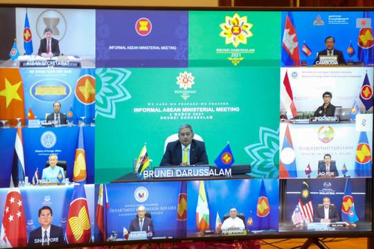 Chính biến Myanmar: Các Bộ trưởng Ngoại giao ASEAN ra Tuyên bố chung