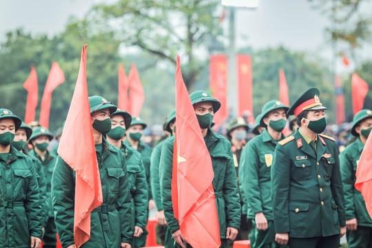 Nam Định: Hơn 2.500 thanh niên lên đường nhập ngũ