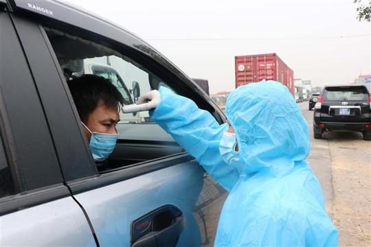 Bắc Ninh thực hiện giám sát người đi từ Hải Dương