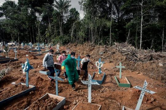 Brazil ghi nhận số ca tử vong kỷ lục do biến chủng mới của đại dịch covid-19