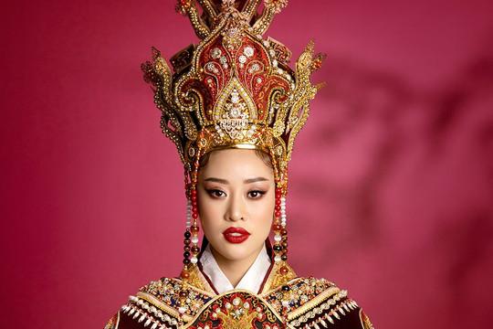 Hoa hậu Khánh Vân hoá thân thành Thái hậu Dương Vân Nga