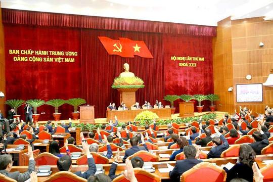 Trung ương thảo luận việc kiện toàn nhân sự một số chức danh lãnh đạo cơ quan Nhà nước