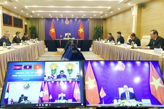 Việt Nam-Lào-Campuchia: Đẩy mạnh hợp tác, giao lưu 13 địa phương giáp biên