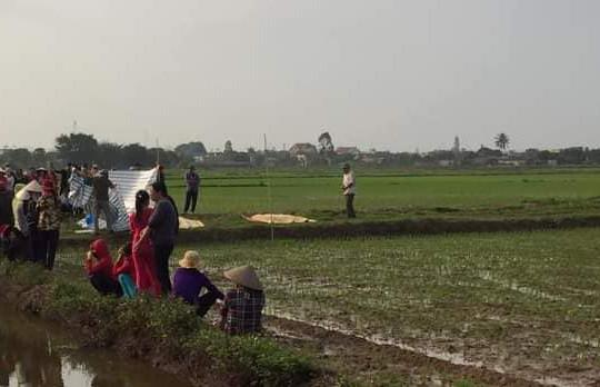 Thái Bình: Phát hiện 2 nam thanh niên tử vong dưới mương nước