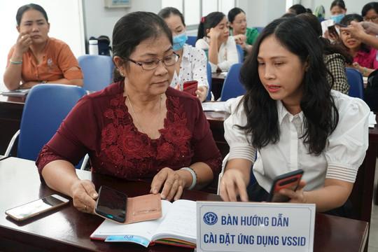 Về kết quả sau hơn 3 tháng triển khai ứng dụng VssID - Bảo hiểm xã hội số