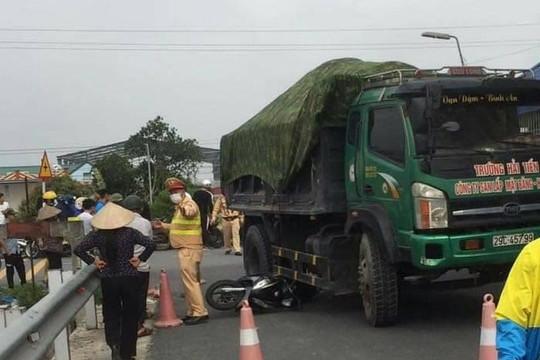 Nữ sinh tử vong thương tâm sau va chạm với xe tải tại Nam Định