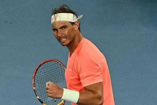 Rafael Nadal từ chối dự ATP Dubai Duty Free tuần tới