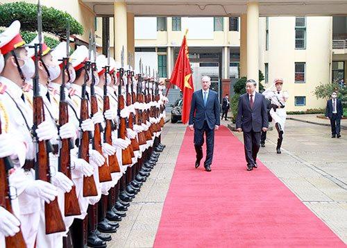 Làm sâu sắc thêm quan hệ giữa Bộ Công an Việt Nam với các cơ quan thực thi pháp luật Liên bang Nga