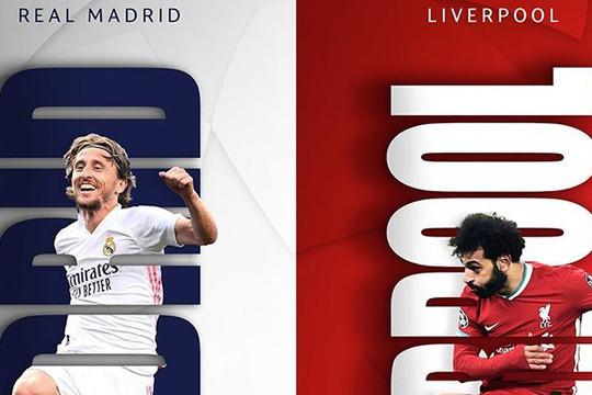 "Real ""chạm trán"" Liverpool tứ kết Champions League"
